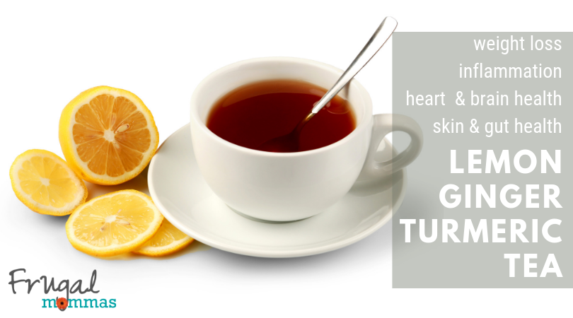Weight Loss Lemon Ginger Turmeric Tea