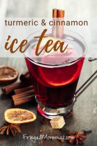 Turmeric Cinnamon Tea Blast